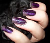 Pick and Mix  Purple Fire Brush Stroke Nail Art | The ...