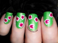 Spring Flower Nail Art | The Adorned Claw