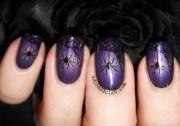spooky spider halloween gradient