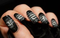 Gothic Nail Art | www.imgkid.com - The Image Kid Has It!