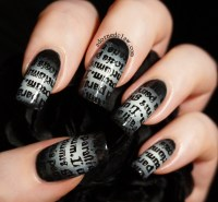 Goth Nail Art | www.imgkid.com - The Image Kid Has It!