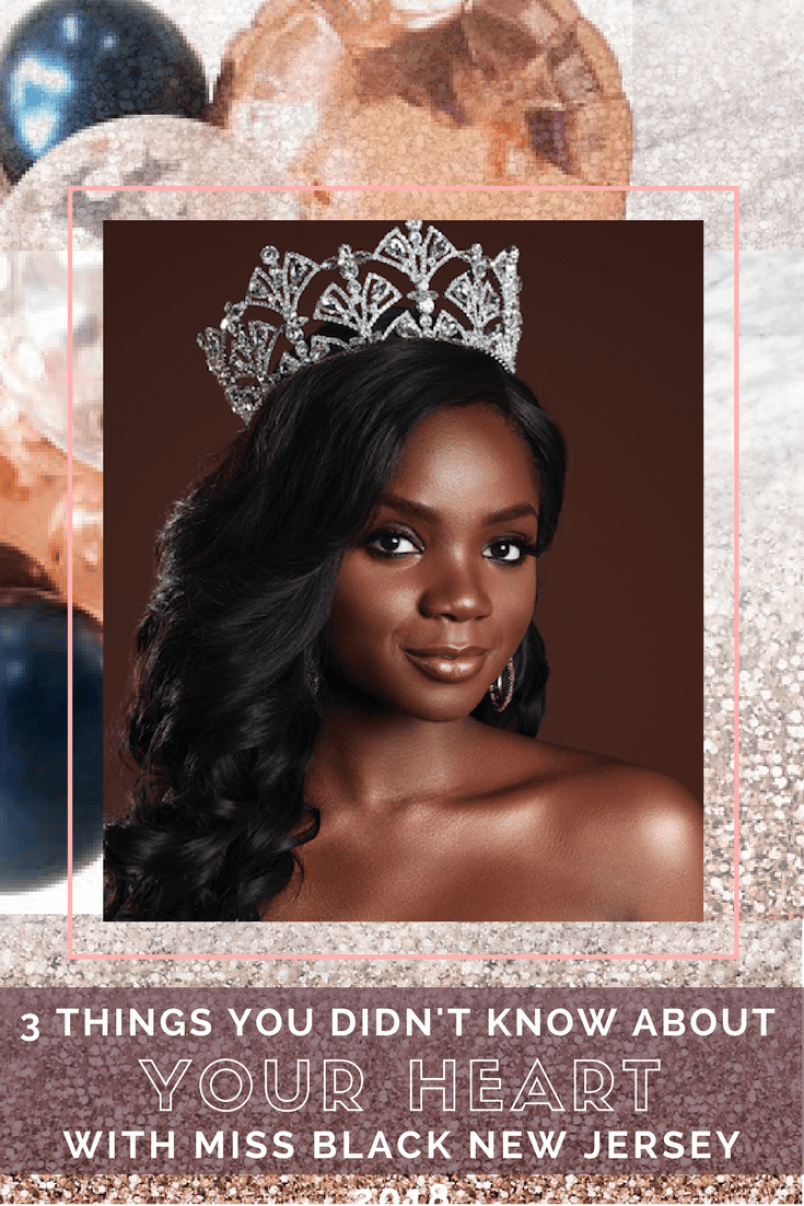 listen to your heart check miss black new jersey pageant - adorned in armor