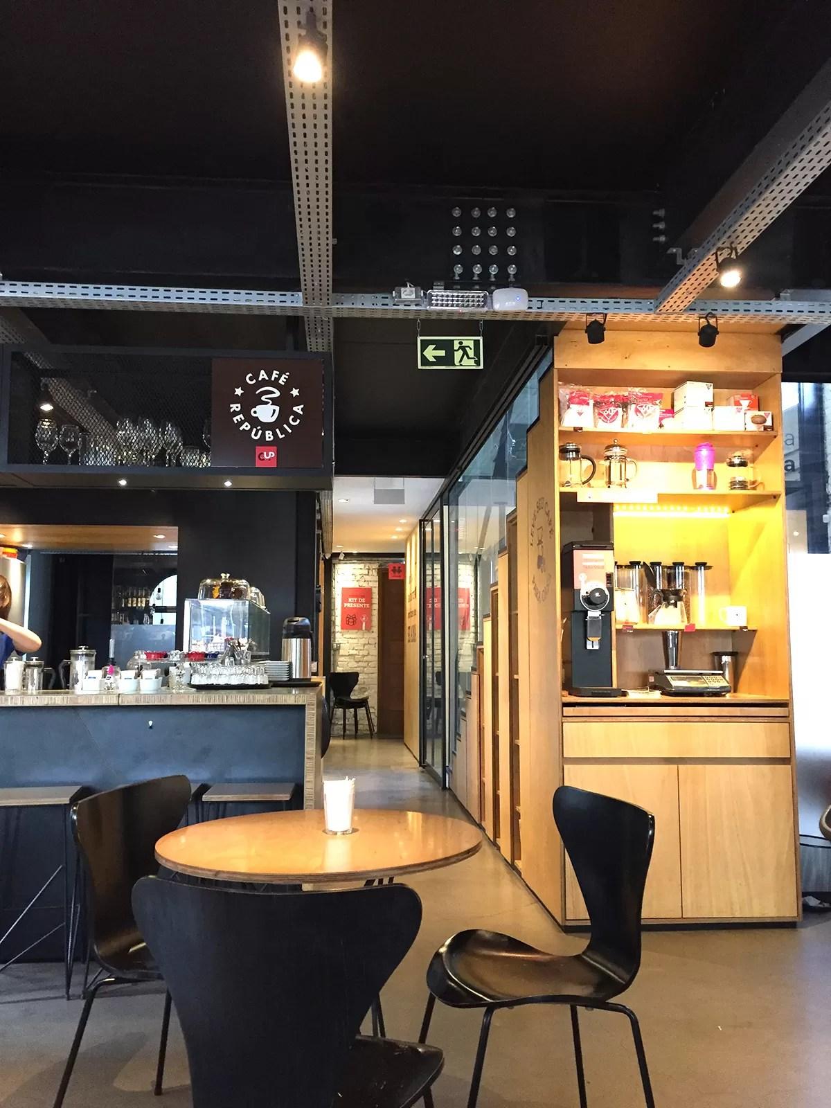 Decorao do Repblica Caf Conhea o Caf