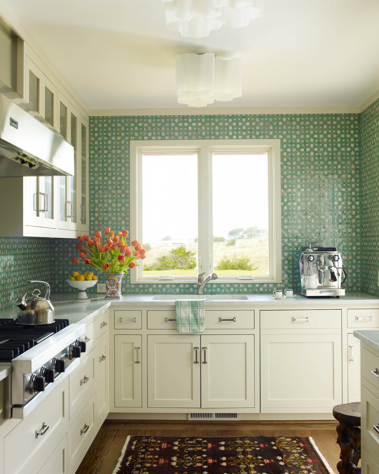 green kitchen backsplash laminate flooring in making a dose of simple