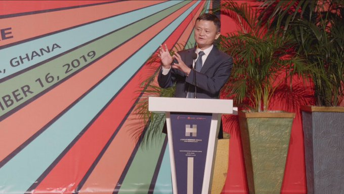 My visit to Ghana is the most important one yet in Africa- Jack Ma