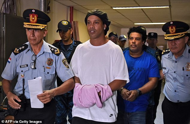 Ronaldinho has been released from prison in Paraguay after serving just 32 days