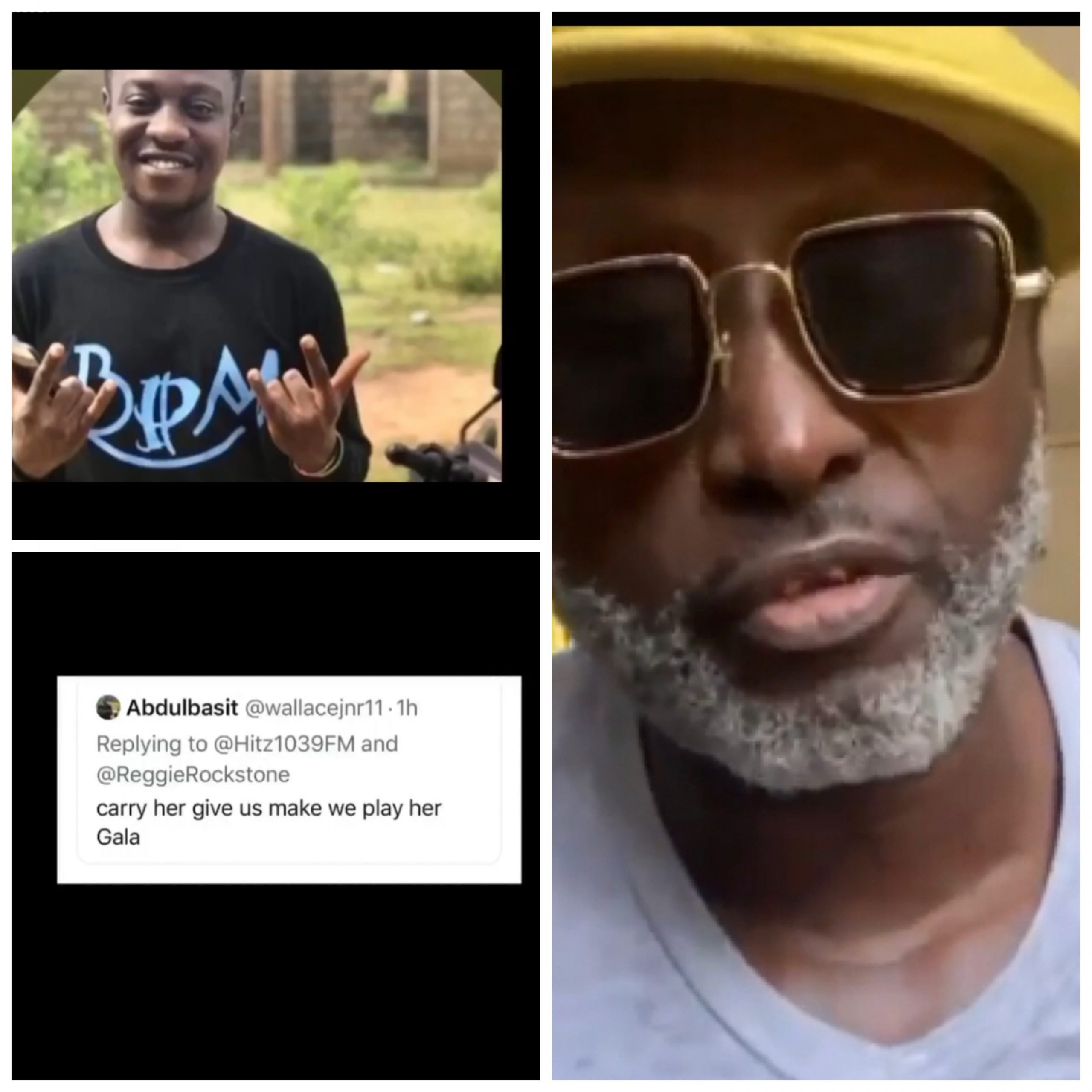 Watch: 'He's a pedophile'-Reggie Rockstone angrily calls out fan who threatened to gang rape his daughter