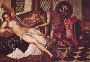 Censura en instagram Jacopo Tintoretto