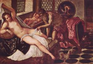 Censura en instagram Jacopo Tintoretto