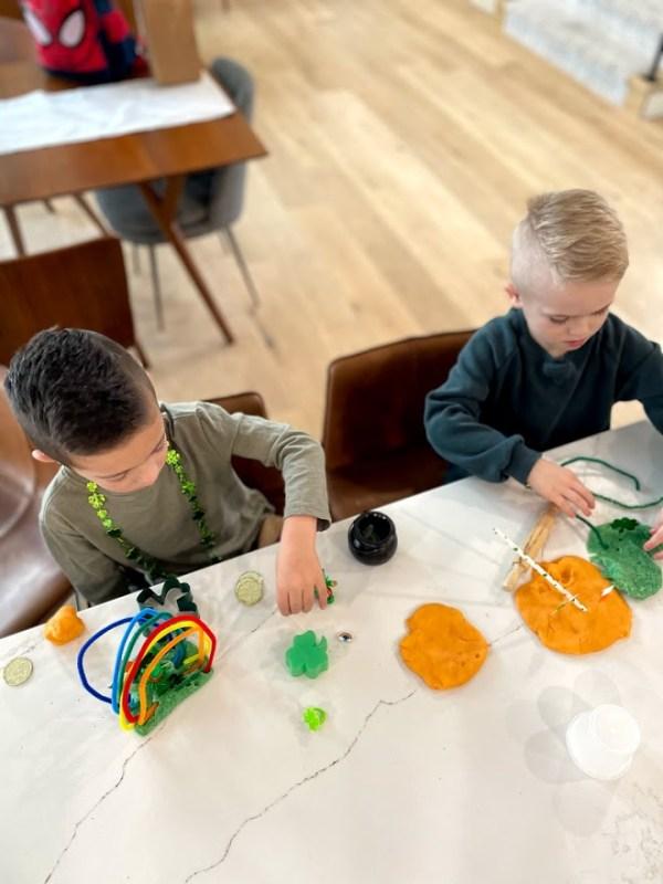 playdough sensory kits