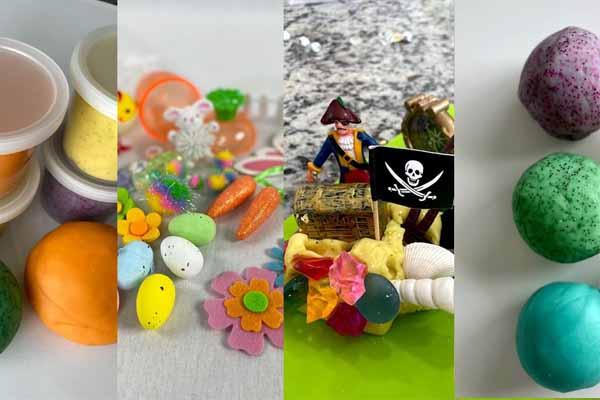 benefits of playdough sensory kits