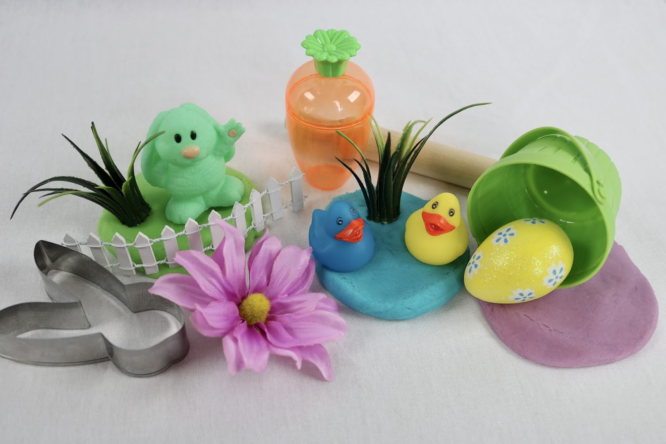Easter play dough sets for toddlers