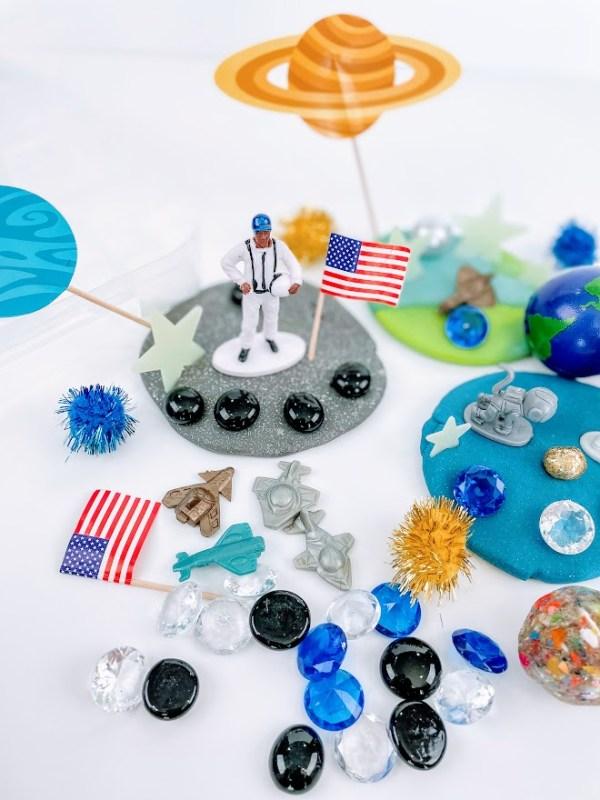 space playdough kits