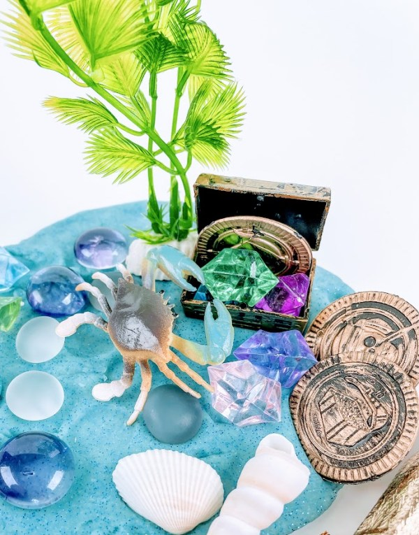 mermaids playdough kits
