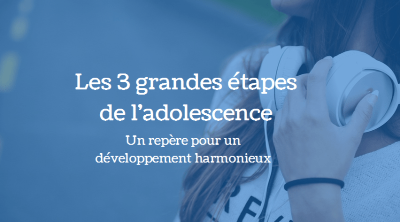 étapes adolescence