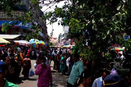 Busy Street of Crawford Market