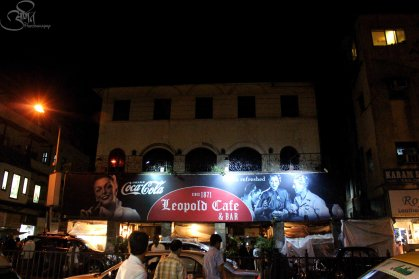 The famous Leopold Cafe