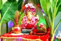 Ganpati at Home
