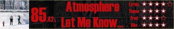 Atmosphere-LetMeKnow