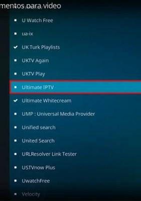 CCloud Addon para Kodi: Canales IPTV 1000+ gratuitos