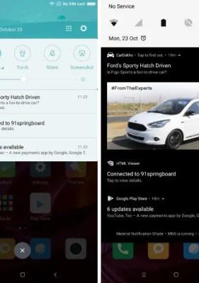 Cómo Obtener un Centro de Notificación tipo Android en MIUI