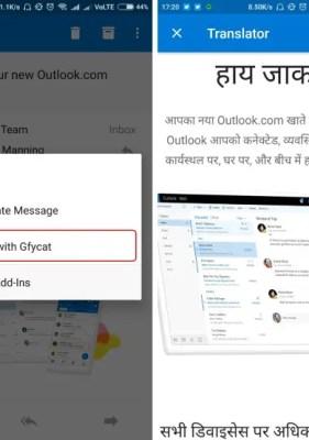 Cómo instalar complementos en la aplicación Android de Microsoft Outlook