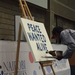 Peace wanted alive