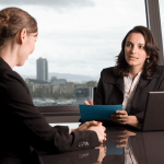 Female HR managers