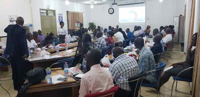 Kumasi Tech University staff undergo training
