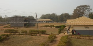 School property were destroyed during the rioting
