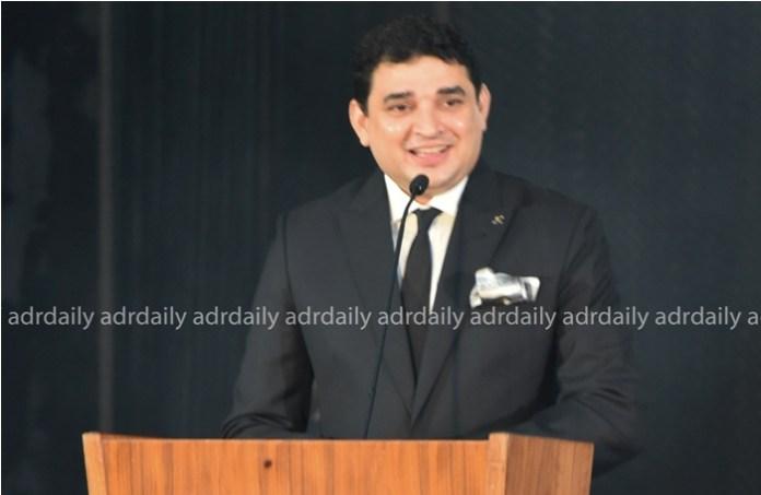 Mr Manish Nambiar, General Manager, Kempinski Hotel, addressing the ceremony