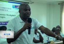 John Amegashie, General Secretary, UNICOF