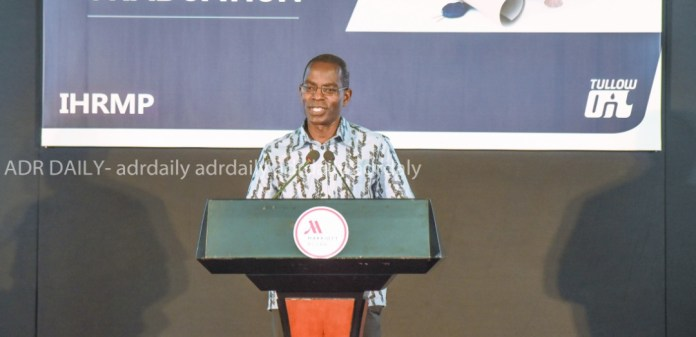The President and founder of Ashesi University College, Patrick Awuah