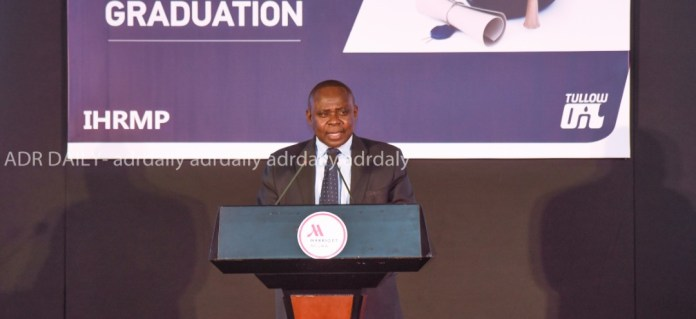 President of the Institute of Human Resource Management Practitioners (IHRMP), Dr. Edward Kwapong