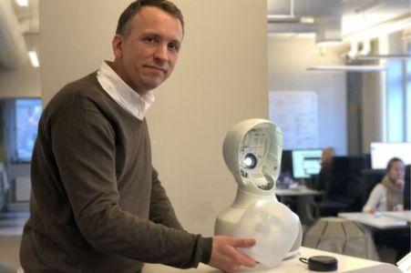 Furhat Robotics' Gabriel Skantze says Tengai is trained to avoid human biases