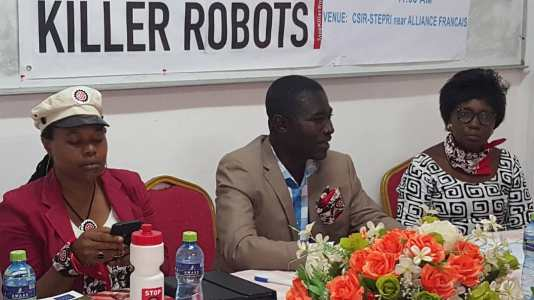 Dr Ayo Amaale, George Amoh and Mrs Mercy Osei-Konadu