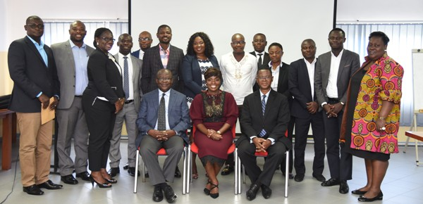 The facilitators and the participants at the opening session