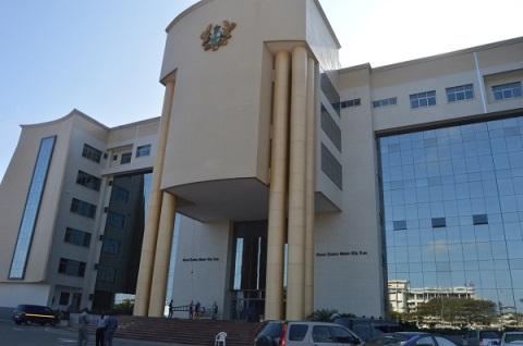 High Court complex in Accra