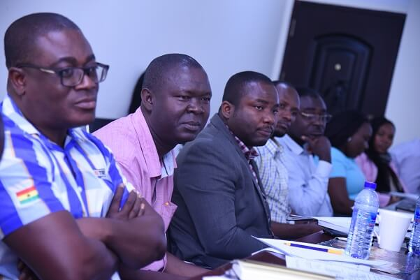 The training addressed various labour issues