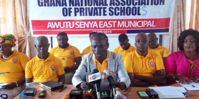 Awutu Senya East Private schools threaten demo