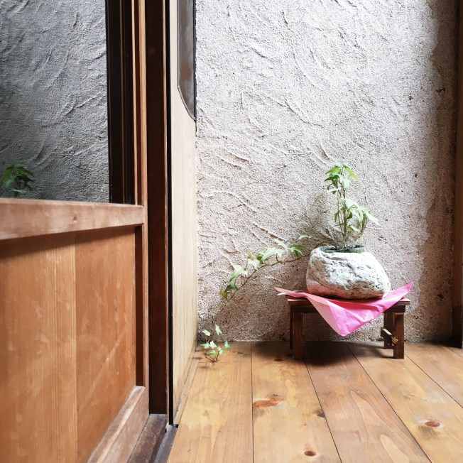 Kyoto Japan machiya traditional wooden townhouse interior