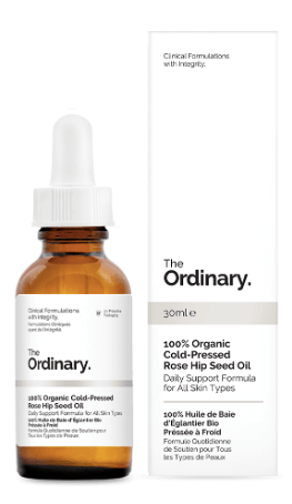 100% Organic Cold-Pressed Rose Hip Seed Oil (30ml)