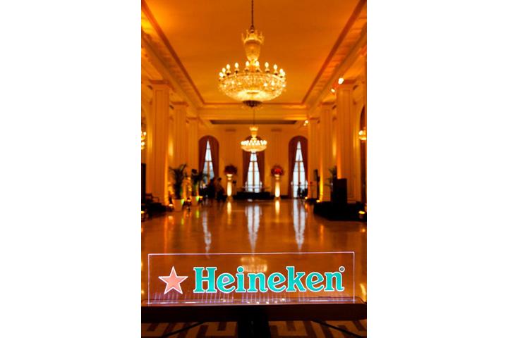Apoio cerveja Heinekeen