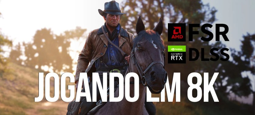 Can you play in 8K?  We tried it with DLSS and FSR on the Samsung Neo QLED