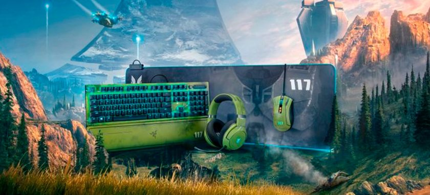 Razer launches Halo Inifnite-inspired mouse, keyboard and headset