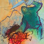 Sacrifice of Isaac by Adi Holzer 1997