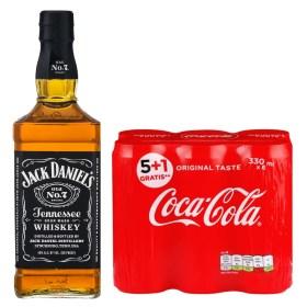 Adria-Klik Fun Pack Jack Daniels 1l Whiskey + Coca-Cola 0,33l 5+1 Gratis Coca-Cola 0,33l limenka ORIGINAL TASTE Coca-Cola za Hrvatsko tržište - Garancija kvalitete, svježine i roka trajanja Naša preporuka - Konzumirati uz Premium Led iz naše ponude