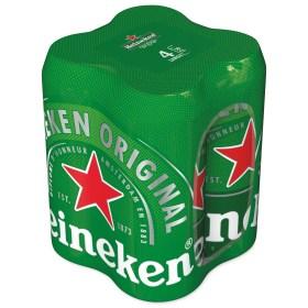 Heineken 4 X 0,4 l limenka 4pack | Adria Klik Najbrža dostava namirnica, vina craft piva i delicija! Naruči iz fotelje najbržu dostavu odmah!