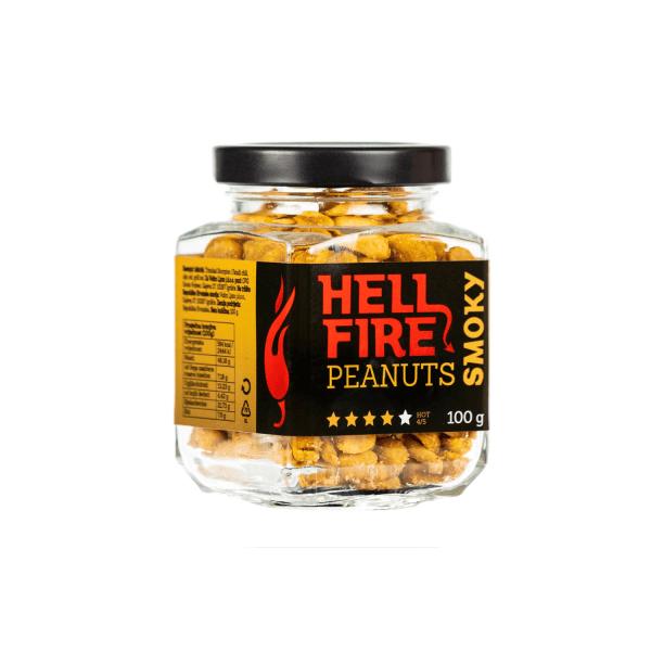 Smoky Hellfire Peanuts ljuti kikiriki 100 g Volimljuto Hot 5/5 Adria Klik dostava Volimljuto proizvoda! Klikni i mi dostavljamo