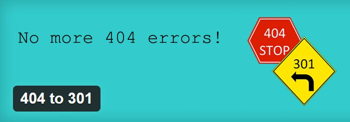 404 на 301 редирекција